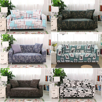 Stretch Sofa Couch Covers Slipcover Easy Fit Lounge Protector 1 2 3 4 Seater