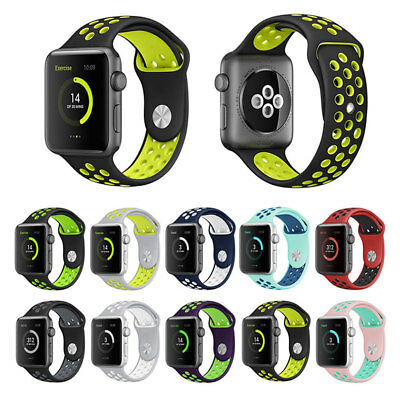 38mm/42mm Strap Sports Wrist Bracelet Clasp Band For iWatch Apple Watch Replace