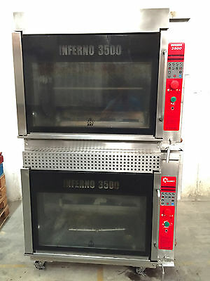 Hardt 3500 Gas Double Stack Chicken Rotisserie Ovens