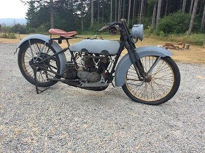1914 Harley-Davidson Other  1914 Harley-Davidson twin, BELLY # MATCH,  in later J/JD chassis