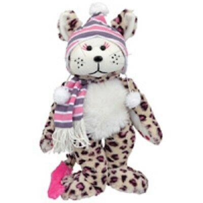 Rosie The Snow Leopard Bear Cuddly Kid Beanie Kid NEW  Large 40cm/16""