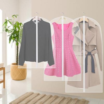 2017 Clothes Dustproof Suit Cover Hanging Clothes Clothing Dust Bag Storage