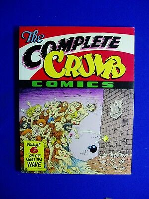 The Complete Crumb Comics vol 6 First edition & First printing 1991.
