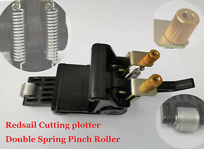 NEW 3 PCS Pinch Roller Assembly For Cutting Plotter Vinyl Cutter Double Spring