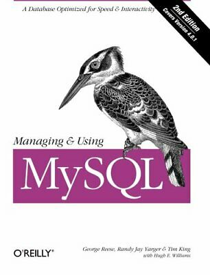 Managing & Using MySQL: Open Source SQL Databas... by Hugh E. Williams Paperback