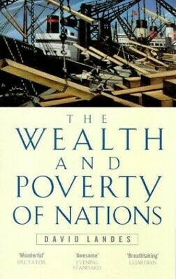 Wealth And Poverty Of Nations by Landes, David S. Paperback Book The Cheap Fast