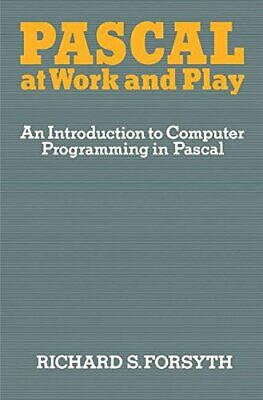 Pascal at Work and Play by Forsyth, Richard Book The Cheap Fast Free Post