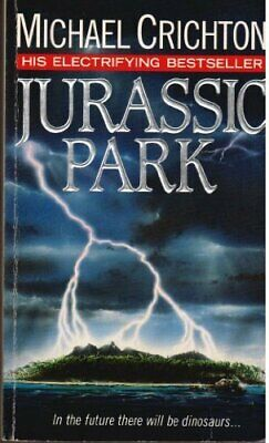 Jurassic Park by Crichton, Michael Paperback Book The Cheap Fast Free Post