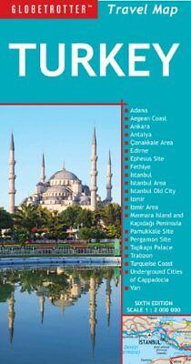 Turkey (Globetrotter Travel Map) by Globetrotter Sheet map, folded Book The
