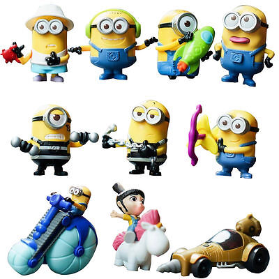 McDonald's Happy Meal Toy 2017 DESPICABLE ME 3 Asia NEW Choose Your Own Minions