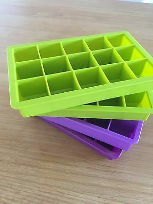 Baby Weening Rubber Freezer Cube Tray