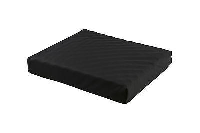 Seat / Wheelchair Cushion - Convoluted PU Foam & Gel Insert, Waterproof Cover!