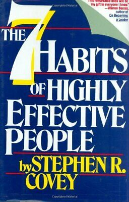 The 7 Habits of Highly Effective People: Powerf... by Covey, Stephen R. Hardback