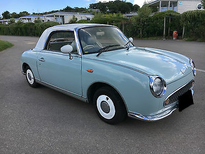 1991 Nissan Figaro Cabriolet Nissan Figaro 1991 low low mileage