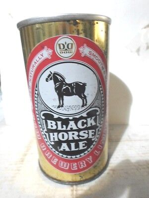 Black Horse Ale Canadian Straight Sided Steel Beer Can