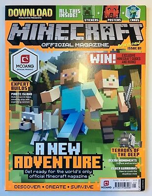 Minecraft Offical Magazine Issue 01 3Nd Aug - 5 Sep 2017