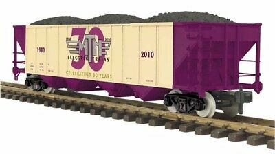 MTH RailKing 70-75031 M.T.H. 30th Anniversary One Gauge 4-Bay Hopper Car MIB **