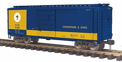 MTH RailKing 70-74071 One Gauge Chesapeake & Ohio 40' Box Car MTHRRC MIB **