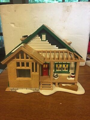 Dept 56 Snow Village A HOME IN THE MAKING Habitat for Humanity COMPLETE w/ box