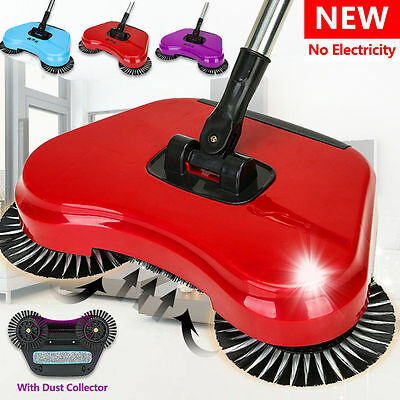 TV Spin 360 Rotary Home Use Magic Manual Telescopic Floor Dust Sweeper Mop SF