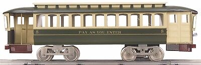 Lionel Corp. Std. Gauge 11-2024-1 #8 Pay-As-You-Enter Trolley w/Proto-Sound 2.0
