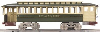Lionel Corporation 11-2024-1 #8 Pay-As-You-Enter Trolley w/Proto-Sound 2.0 MIB *