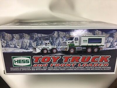 2008 Hess Toy Truck and Front Loader new in Box