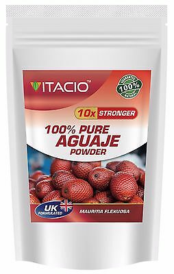 AGUAJE PURE 10:1 Extract Powder, 50g - 100g, Bigger Breast & Buttocks And Hips