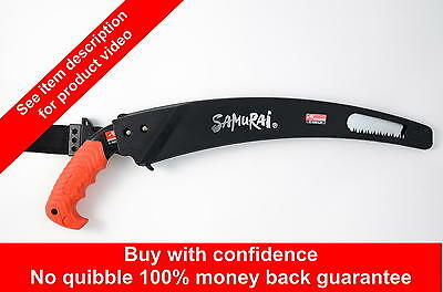 Samurai C-330-LH 330mm curved pruning saw.