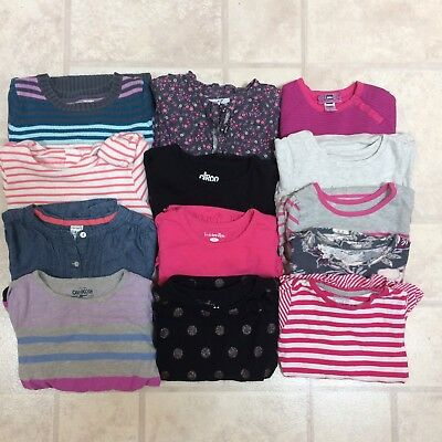 Toddler Girl 4t Lot Shirts Tops Long Sleeve Fall Winter