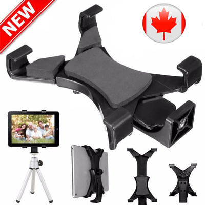 """Universal Tablet Tripod Mount Clamp Holder Bracket Clip Adapter for 7""""~10.1""""iPad"""