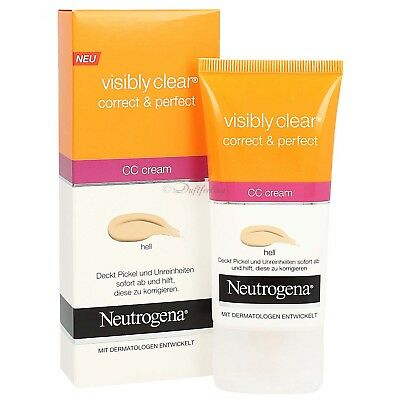 Neutrogena Visibly Clear Correct & Perfect CC Cream 50 ml
