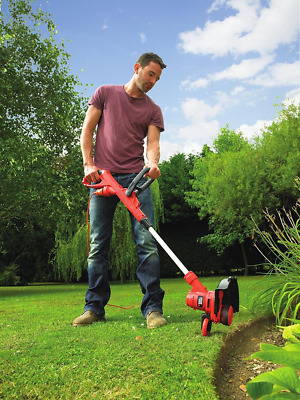 Corded Electric Grass Strimmer Trimmer Outdoor Lawn Garden Yard Weed Cutter New