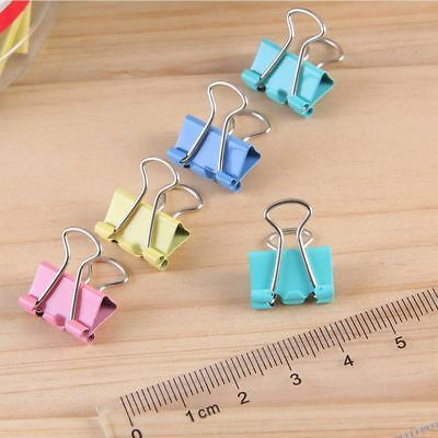 Metal Multifunction Paper Holder Office Stationery Document Clips Binder Clips