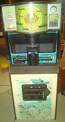 SEA WOLF  ARCADE GAME for parts or repair