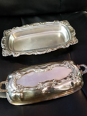 Silver Plated Butter Dish Brand Unknown Excellent condition