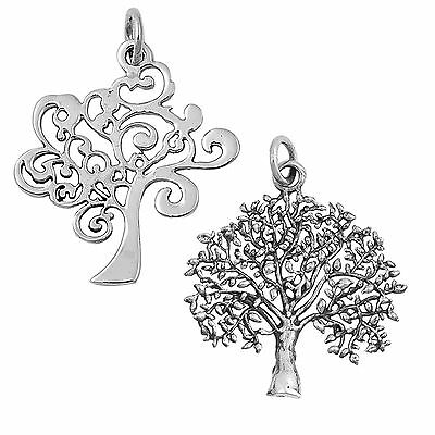 Tree of Life Sterling Silver Spiritual Luck Pendant