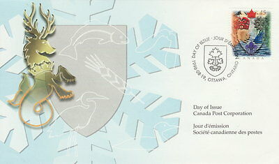 Canada #1614 45¢ Canadian Heraldry First Day Cover