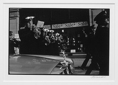 """Roger Fremier Mercedes And Parade 1969 - New York City? 8""""x10"""" Photograph"""