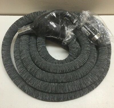 cen tec systems 90309 central vacuum universal connect electric hose 30 feet