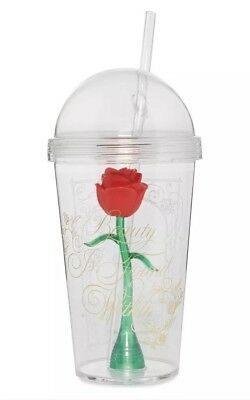 Primark Beauty And The Beast Tumbler Cup Picclick Uk