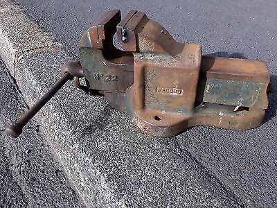 Used Quick Release Vice Record No 22 - 3 1/2 Inch Jaw width