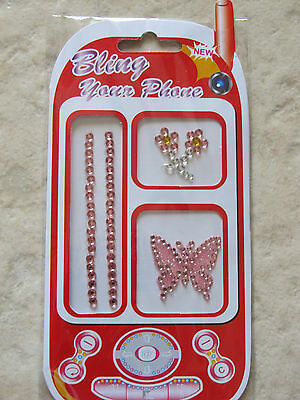 Bling Your Phone And Scrapbooking Stickers