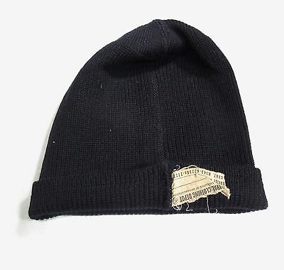 Vintage 1940s 1950s WWII US Navy Wool Knit Watch Cap