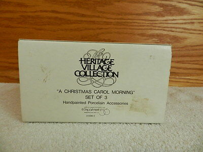 "Dept 56 Dickens' Heritage Village Collection ""A Christmas Carol Morning"""