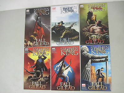 Stephen King The Dark Tower Fall Of Gilead #1-6 Marvel Comics Complete Set