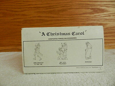 "Dept 56 Dickens' Heritage Village Collection ""A Christmas Carol"""