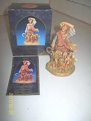 Judah  Fontanini 5 In Heirloom Nativity Figure In Box  & Booklet 1997
