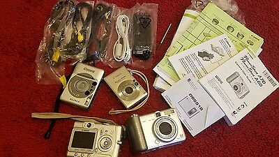 CANON 4 CAMERA LOT (for parts)