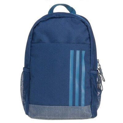 New Mens adidas Blue Cl Xs Polyester Backpack Backpacks